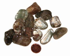 Lodolite Quartz is a great dreaming crystal - Free info on healing properties and how to use with purchase - Free shipping over $60.