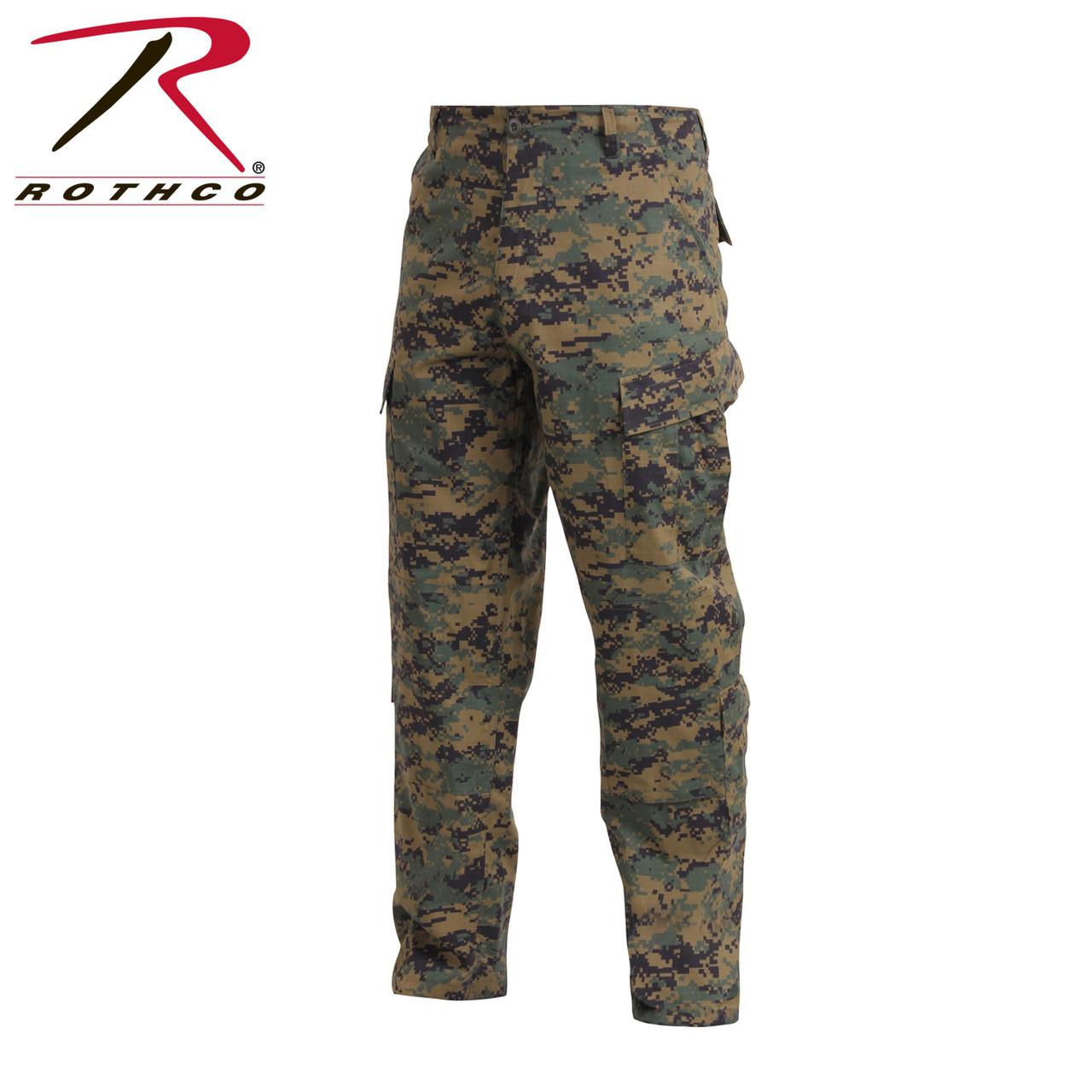 Rothco Woodland Digital Combat Uniform Pants
