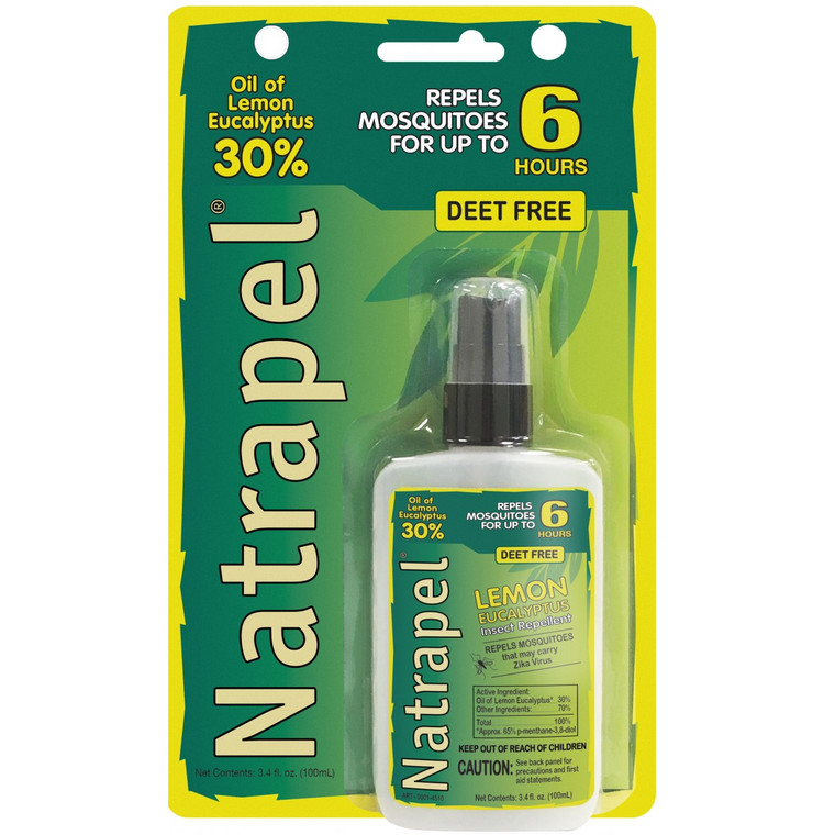 Natrapel® Lemon Eucalyptus Pump 3.4 oz Carded