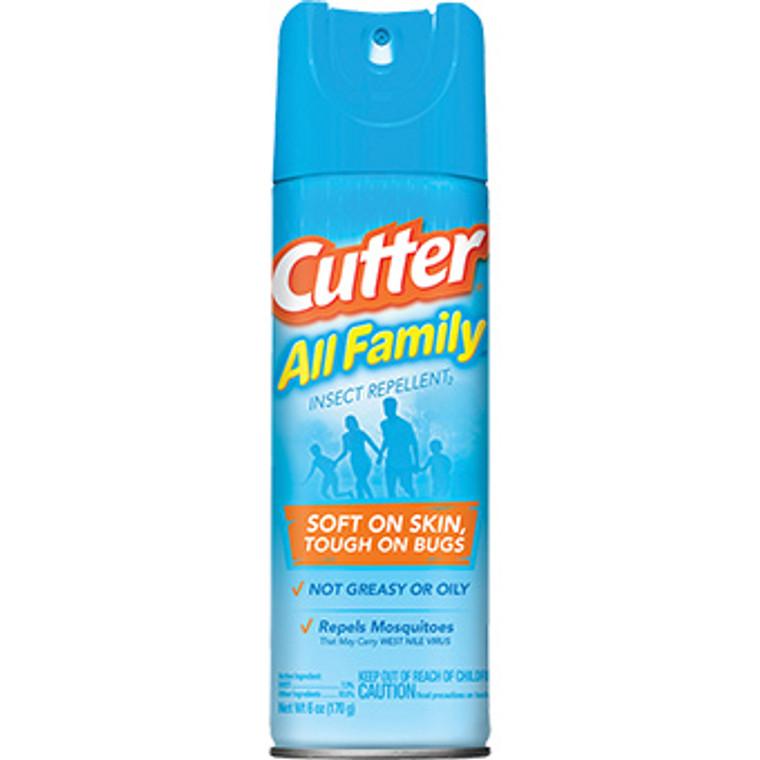 CUTTER ALL FAMILY 7% DEET AERO