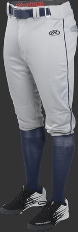 ADULT LAUNCH PIPED KNICKER BASEBALL PANT