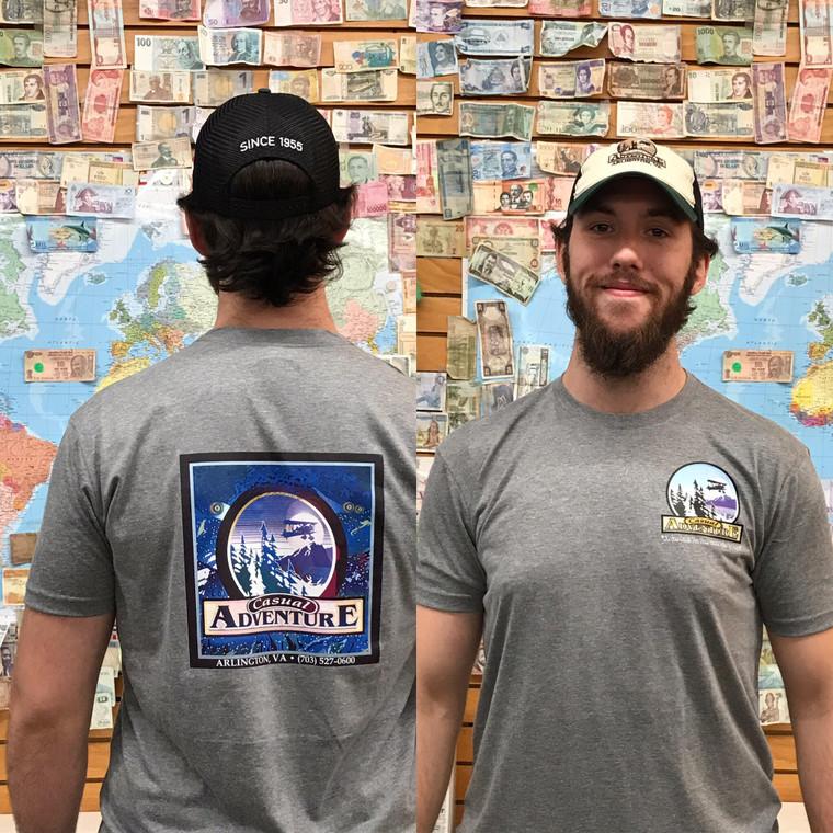 Men's Casual Adventure T-Shirt