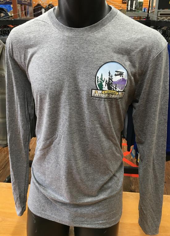 Men's Casual Adventure Long Sleeve T-Shirt
