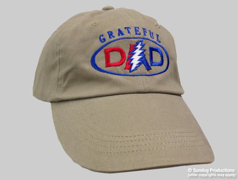 Grateful Dad Baseball Cap