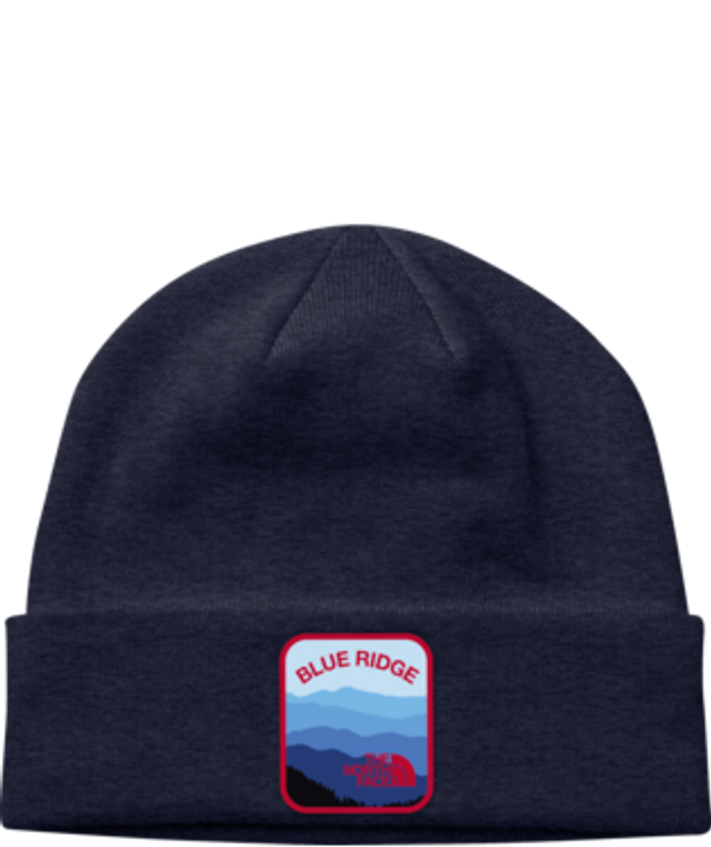 Embroidered Earthscape Beanie