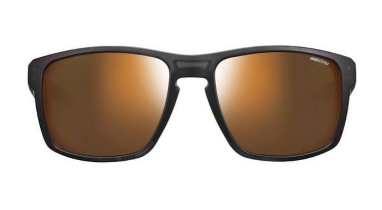 SHIELD Transluscent Black / Neon Orange REACTIV 2-4 Polarized - Transluscent Black/Neon Orange