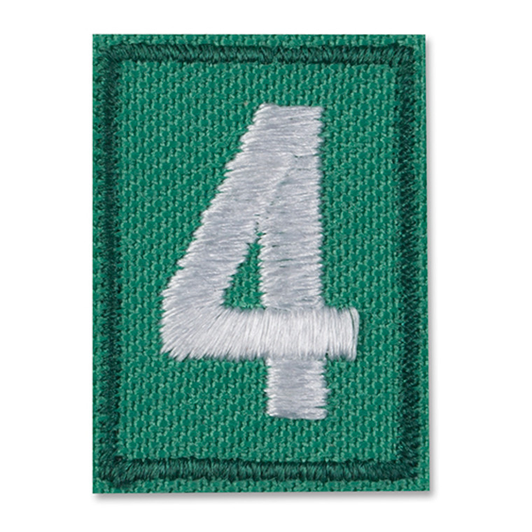 Junior, Cadette, Senior, Ambassador Troop Numerals