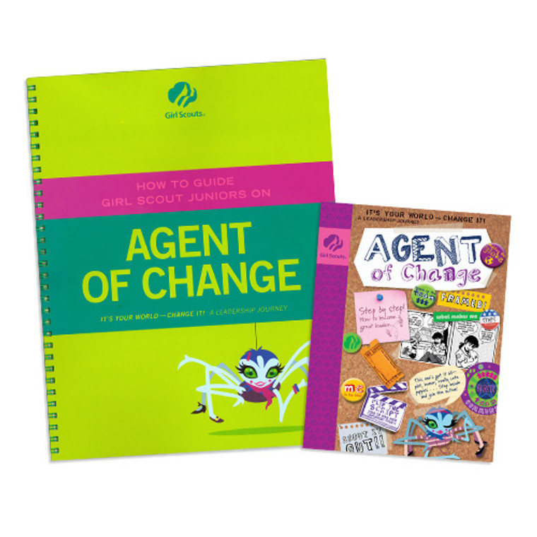 Junior Agent Of Change And Adult Guide Journey Book Set