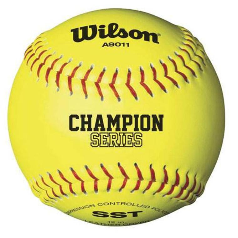Wilson A9011B High School Fastpitch Softball - 12 inch - .47/375 - VHSL