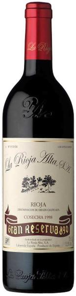 La Rioja Alta 'Gran Reserva 890' 1998