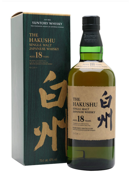 Hakushu 18yr Single Malt Japanese Whisky