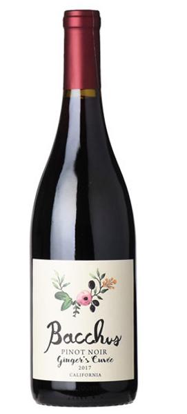 Bacchus 'Ginger's Cuvée' Pinot Noir 2018, California