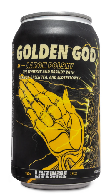Livewire 'Golden God' by Aaron Polsky
