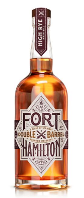 Fort Hamilton Double Barrel Bourbon Whiskey