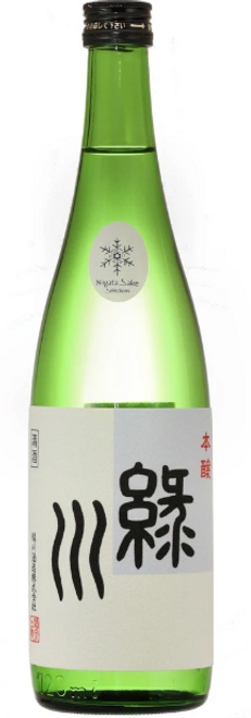 Midorikawa Brewery 'Green River' Honjozo Sake