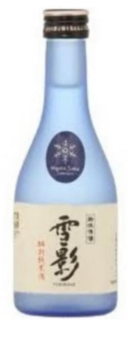 Kinshihai Brewery Yukikage 'Snow Shadow' Tokubetsu Junmai Sake