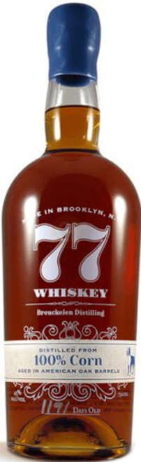 Breuckelen Distilling 77 100% Corn Whiskey