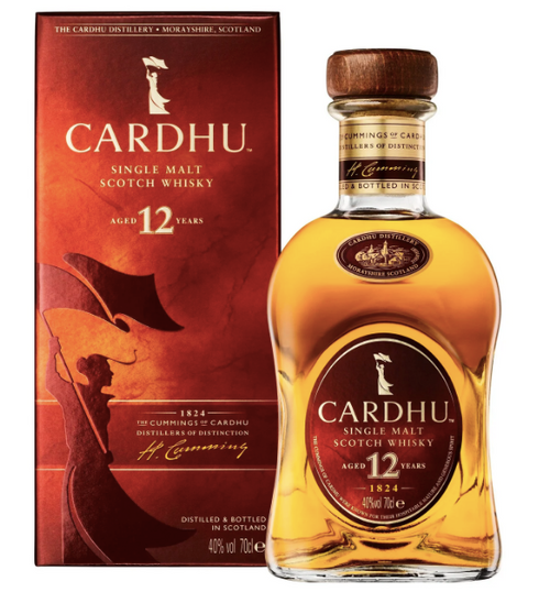 Cardhu 12yr Single Malt Scotch