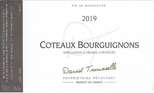 David Trousselle Coteaux Bourguignons Rouge