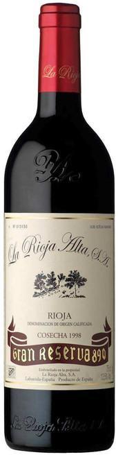 La Rioja Alta 'Gran Reserva 890' 1998, Rioja, Spain