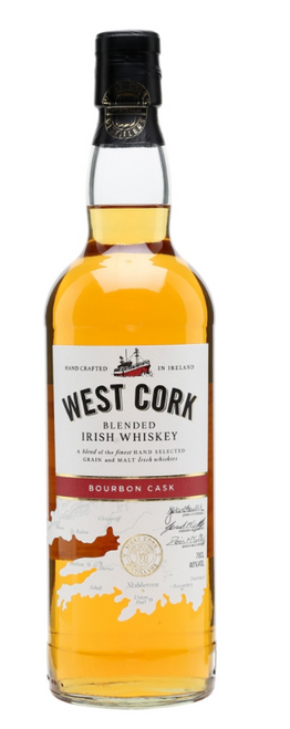 West Cork 'Bourbon Cask' Blended Irish Whiskey