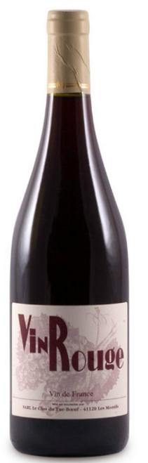 Clos du Tue-Boeuf 'Vin Rouge' 2020, Loire Valley, France