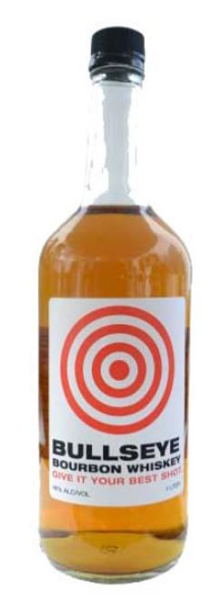 Bullseye Bourbon Whiskey - 1L