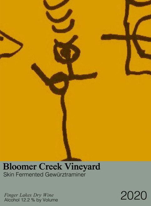 Bloomer Creek Dry Gewürztraminer 'Skin Fermented' 2020