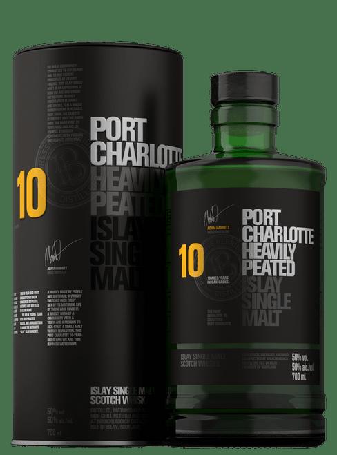 Port Charlotte 10yr Heavily Peated Islay Single Malt Scotch