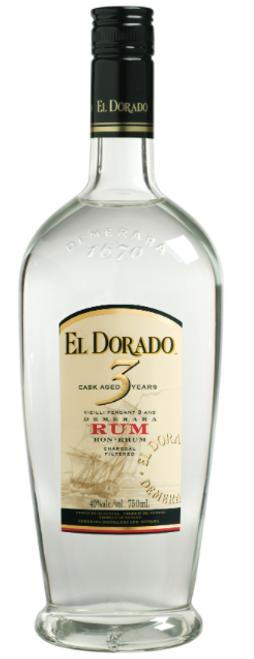 El Dorado 3yr White Rum