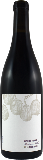 Anthill Farms Anderson Valley Pinot Noir 2018, Sonoma County, California