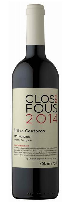 Clos des Fous 'Grillos Cantores' Cabernet Sauvignon 2015, Central Valley, Chile