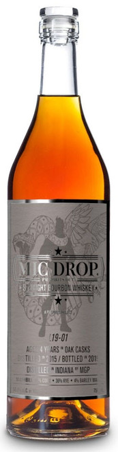 Mic Drop 4yr Straight Bourbon Whiskey