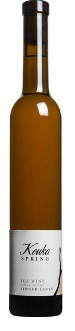 Keuka Spring Vidal Blanc Ice Wine 2018, Finger Lakes, New York - 375ml
