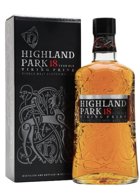 Highland Park 18yr Single Malt Scotch