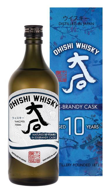 Ohishi 10yr Brandy Cask Japanese Whisky
