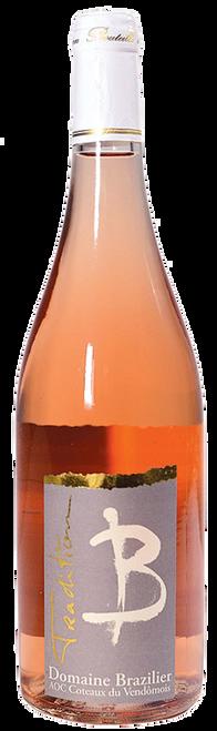 Domaine Brazilier 'Tradition' Rosé Gris, Loire Valley, France