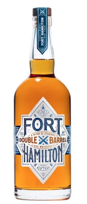 Fort Hamilton Double Barrel Rye Whiskey