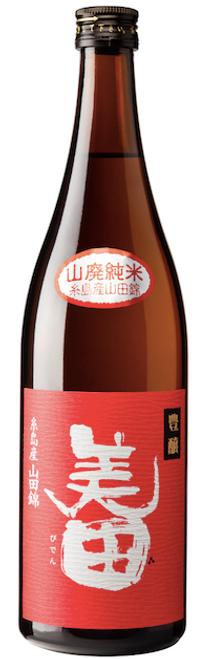Mii no Kotobuki 'Hojo Biden' Yamahai Junmai Sake