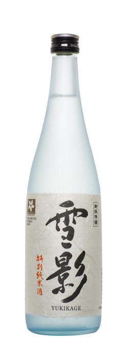 Kinshihai 'Yukikage Snow Shadow' Tokubetsu Junmai Sake