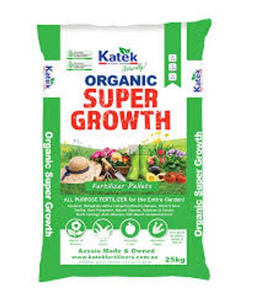 Katek Organic Super Growth Fertilizer 15kg