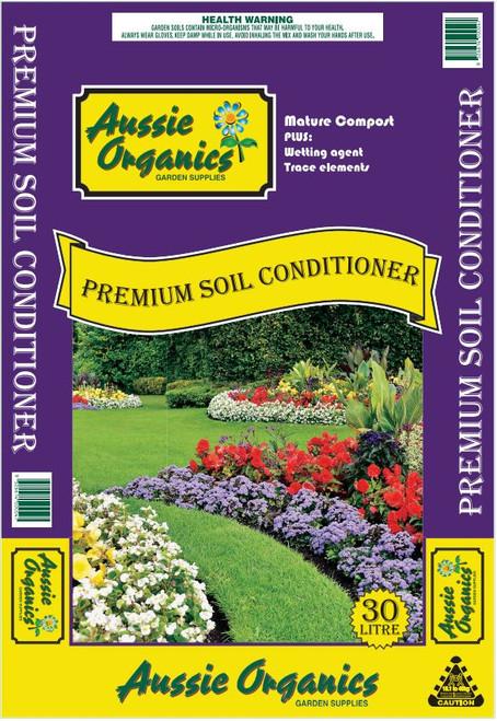 Aussie Organics Soil Conditioner 30L