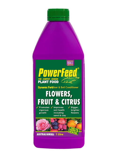 Powerfeed for Flowers, Fruit and Citrus 1lt