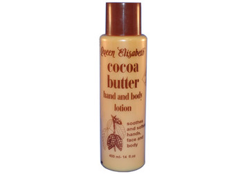 Queen Elizabeth Cocoa Butter Hand and Body Lotion 14oz