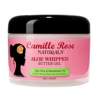 Camille Rose Naturals Aloe Whipped Hair Butter Gel 8 OZ