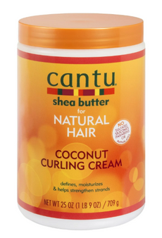 Cantu Shea Butter for Natural Hair Coconut Curling Cream 25oz