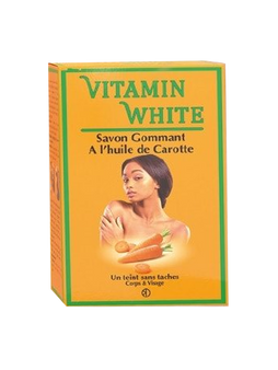 Vitamin White Exfoliating Soap With Carrot Oil 200g