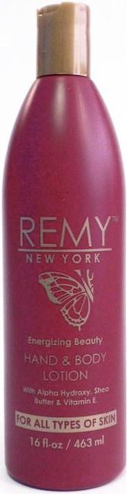 Remy New York Energizing Beauty Hand & Body Lotion 16 oz