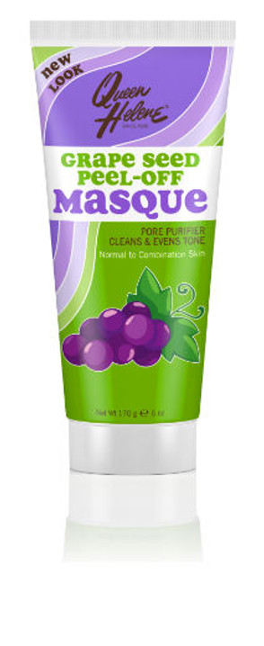 New Packaging Queen Helene Grape Seed Extract Peel Off Masque 6 oz