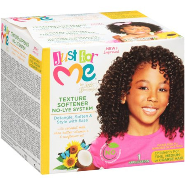 Just For Me- No-Lye Texture Softener Kit For Kids